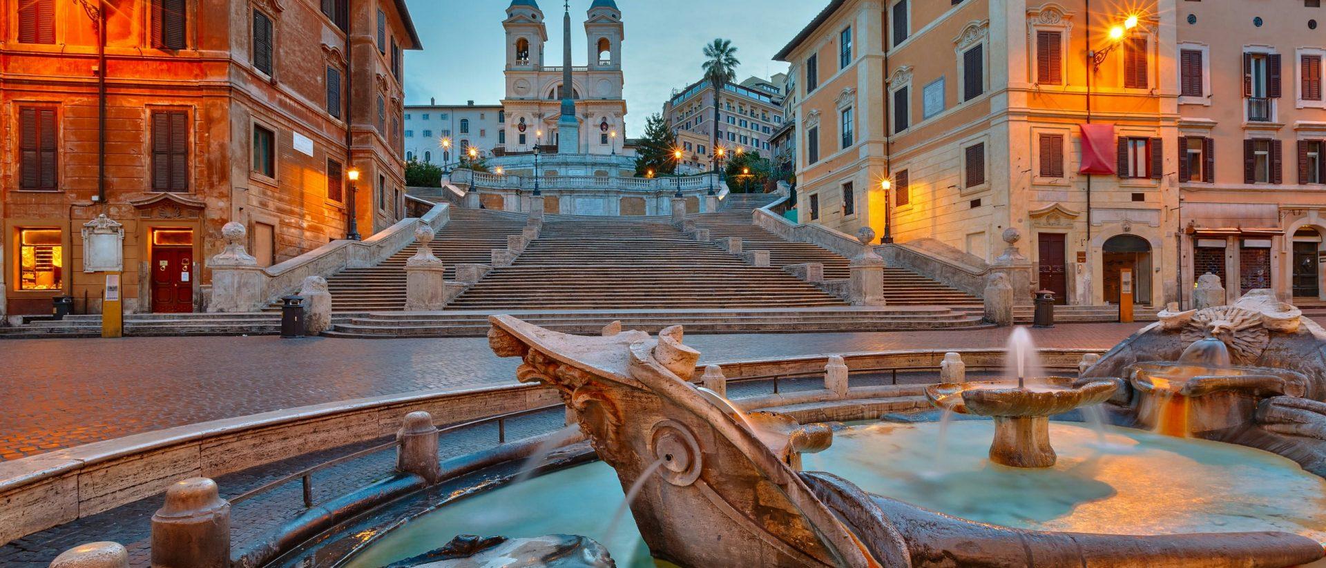 Camera di lusso a Roma in Piazza di Spagna