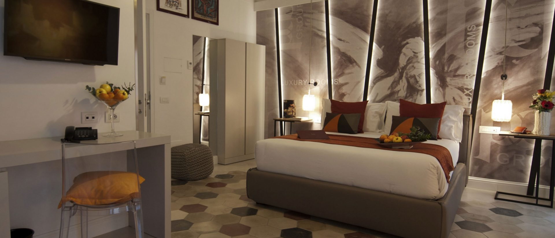 Quadruple room BDB Luxury Rooms Navona Angeli