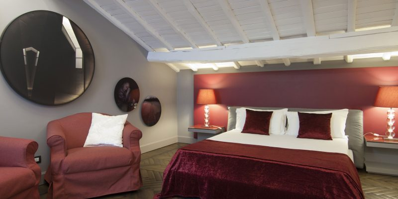 Suite room with terrace BDB Luxury Rooms Margutta