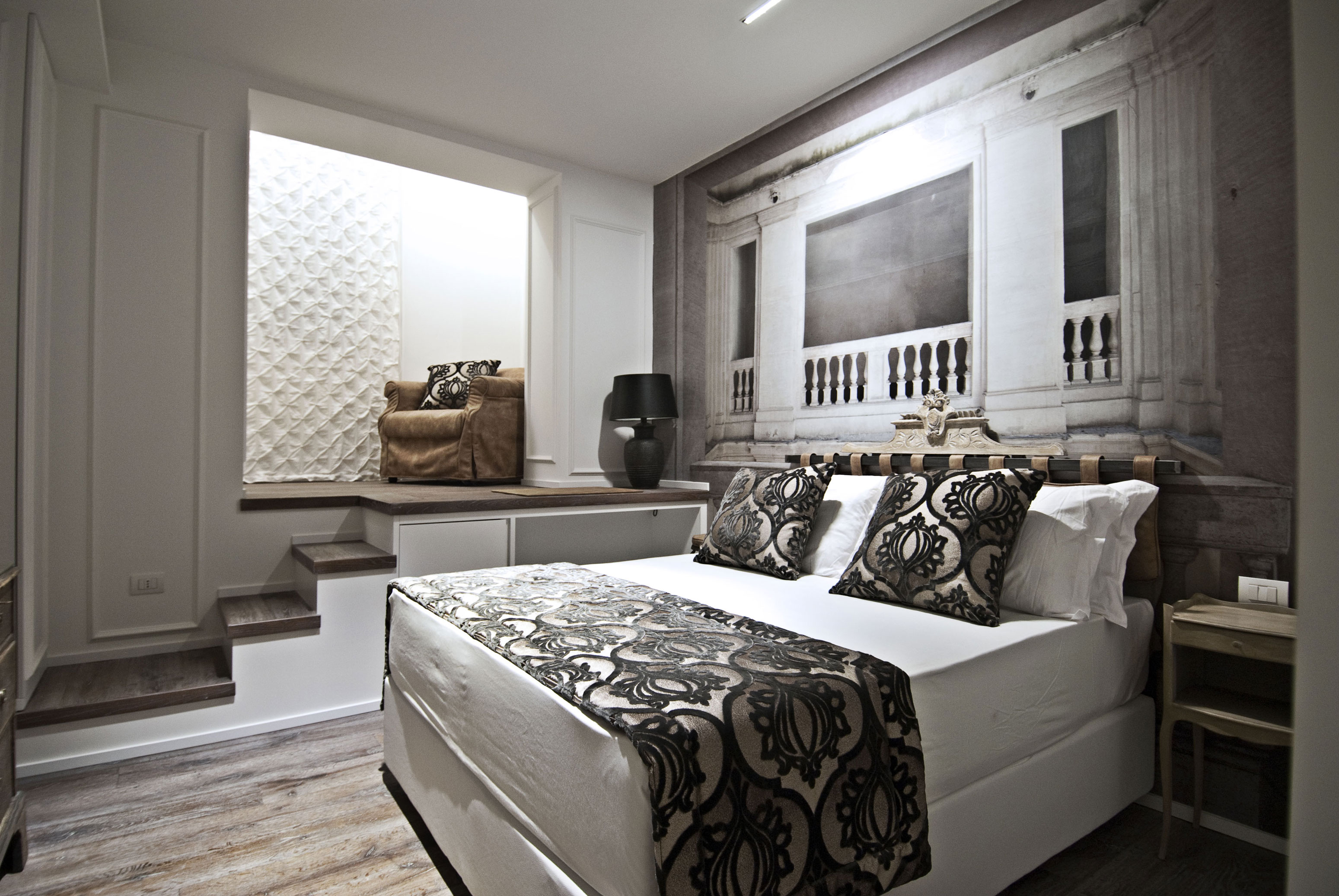 bdb luxury rooms trastevere torre guesthouse rome official site