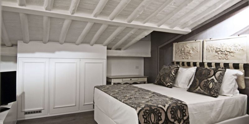 Superior triple room with terrace BDB Luxury Rooms Trastevere Torre